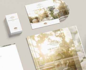 Logo applications including corporate stationery and packaging.